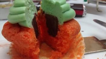oompa loompa cupcake